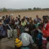 Celebrating new borehole with Bait Trust