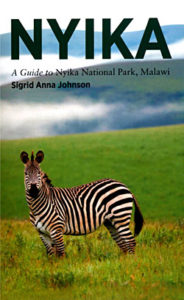 Cover for guide book Nyika, by Sigrid Anna Johnson